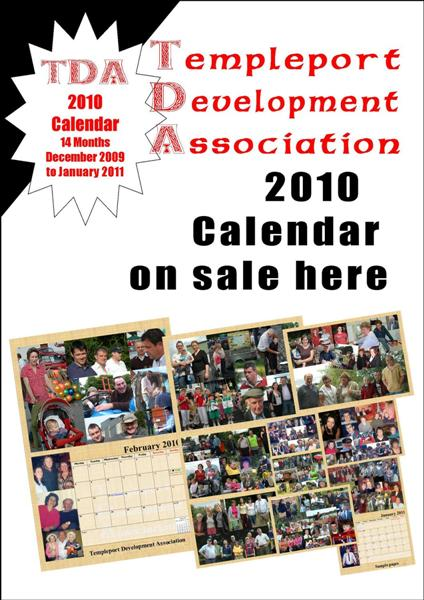 Calendar on sale here poster