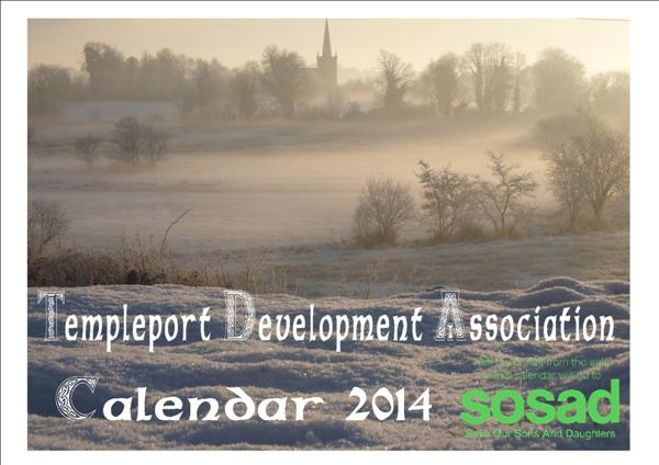 Templeport Development Association Calendar front cover